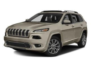 Light Brownstone Pearlcoat 2016 Jeep Cherokee Pictures Cherokee Utility 4D Overland 2WD photos front view