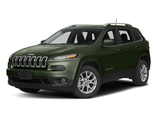 Recon Green Clearcoat 2016 Jeep Cherokee Pictures Cherokee Utility 4D Altitude 2WD photos front view