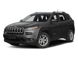 Brilliant Black Crystal Pearlcoat 2016 Jeep Cherokee Pictures Cherokee Utility 4D Latitude 4WD photos front view