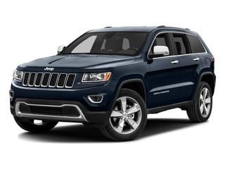 True Blue Pearlcoat 2016 Jeep Grand Cherokee Pictures Grand Cherokee Utility 4D Limited 4WD photos front view