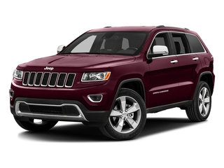 Velvet Red Pearlcoat 2016 Jeep Grand Cherokee Pictures Grand Cherokee Utility 4D Limited 2WD photos front view
