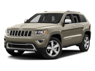 Light Brownstone Pearlcoat 2016 Jeep Grand Cherokee Pictures Grand Cherokee Utility 4D Limited Diesel 4WD photos front view