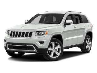 Bright White Clearcoat 2016 Jeep Grand Cherokee Pictures Grand Cherokee Utility 4D Limited 2WD photos front view