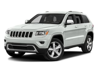 Bright White Clearcoat 2016 Jeep Grand Cherokee Pictures Grand Cherokee Utility 4D Limited Diesel 4WD photos front view