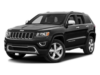 Brilliant Black Crystal Pearlcoat 2016 Jeep Grand Cherokee Pictures Grand Cherokee Utility 4D Limited 4WD photos front view