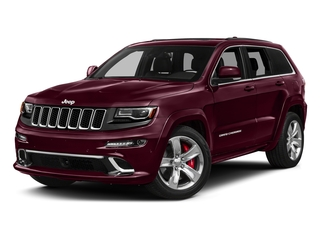 Velvet Red Pearlcoat 2016 Jeep Grand Cherokee Pictures Grand Cherokee Utility 4D SRT-8 4WD photos front view