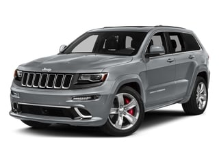 Billet Silver Metallic Clearcoat 2016 Jeep Grand Cherokee Pictures Grand Cherokee Utility 4D SRT-8 4WD photos front view