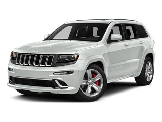 Bright White Clearcoat 2016 Jeep Grand Cherokee Pictures Grand Cherokee Utility 4D SRT-8 4WD photos front view