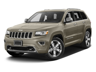 Light Brownstone Pearlcoat 2016 Jeep Grand Cherokee Pictures Grand Cherokee Utility 4D Overland Diesel 4WD photos front view