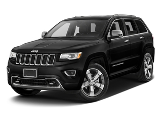 Brilliant Black Crystal Pearlcoat 2016 Jeep Grand Cherokee Pictures Grand Cherokee Utility 4D High Altitude 2WD photos front view