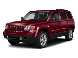 Deep Cherry Red Crystal Pearlcoat 2016 Jeep Patriot Pictures Patriot Utility 4D Latitude 4WD photos front view