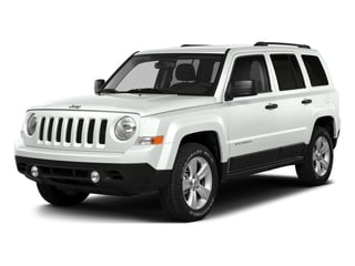 Bright White Clearcoat 2016 Jeep Patriot Pictures Patriot Utility 4D Latitude 4WD photos front view