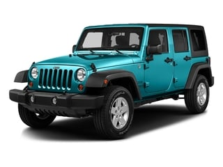 Hydro Blue Pearlcoat 2016 Jeep Wrangler Unlimited Pictures Wrangler Unlimited Utility 4D Unlimited Sport 4WD V6 photos front view