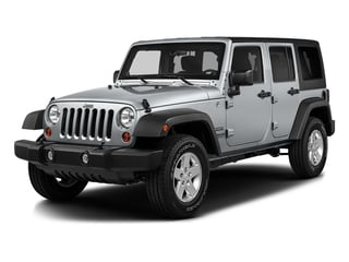 Billet Silver Metallic Clearcoat 2016 Jeep Wrangler Unlimited Pictures Wrangler Unlimited Utility 4D Unlimited Sport 4WD V6 photos front view