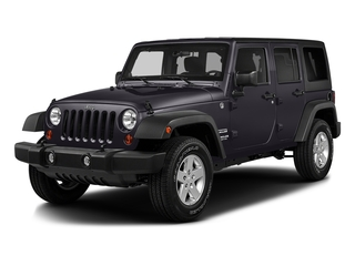 Rhino Clearcoat 2016 Jeep Wrangler Unlimited Pictures Wrangler Unlimited Utility 4D Unlimited Sport 4WD V6 photos front view