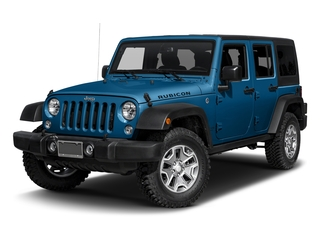 Hydro Blue Pearlcoat 2016 Jeep Wrangler Unlimited Pictures Wrangler Unlimited Utility 4D Unlimited Rubicon 4WD V6 photos front view