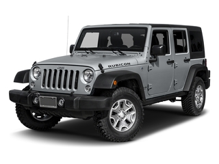 Billet Silver Metallic Clearcoat 2016 Jeep Wrangler Unlimited Pictures Wrangler Unlimited Utility 4D Unlimited Rubicon 4WD V6 photos front view