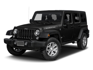 Black Clearcoat 2016 Jeep Wrangler Unlimited Pictures Wrangler Unlimited Utility 4D Unlimited Rubicon 4WD V6 photos front view