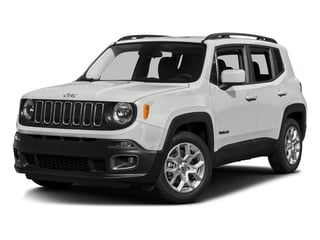 Alpine White 2016 Jeep Renegade Pictures Renegade Utility 4D Latitude 2WD I4 photos front view