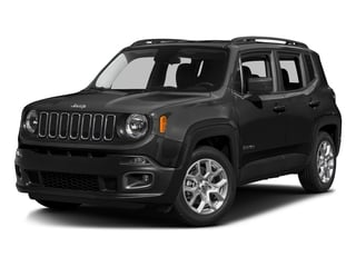 Black 2016 Jeep Renegade Pictures Renegade Utility 4D Latitude 2WD I4 photos front view