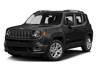 Black 2016 Jeep Renegade Pictures Renegade Utility 4D Latitude AWD I4 photos front view