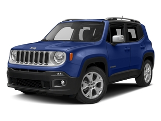 Jetset Blue 2016 Jeep Renegade Pictures Renegade Utility 4D Limited AWD I4 photos front view