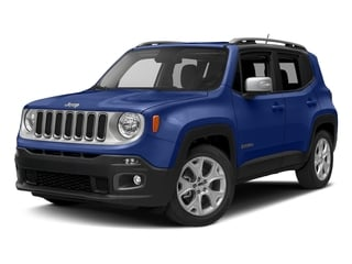 Jetset Blue 2016 Jeep Renegade Pictures Renegade Utility 4D Limited 2WD I4 photos front view