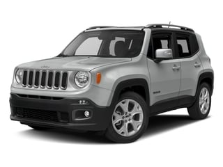 Glacier Metallic 2016 Jeep Renegade Pictures Renegade Utility 4D Limited 2WD I4 photos front view