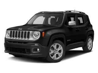 Black 2016 Jeep Renegade Pictures Renegade Utility 4D Limited AWD I4 photos front view