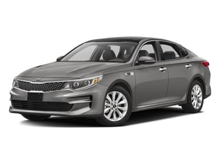 Titanium Gray 2016 Kia Optima Pictures Optima Sedan 4D LX I4 photos front view