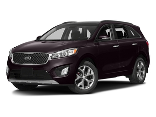 Dark Cherry 2016 Kia Sorento Pictures Sorento Utility 4D SX 2WD V6 photos front view