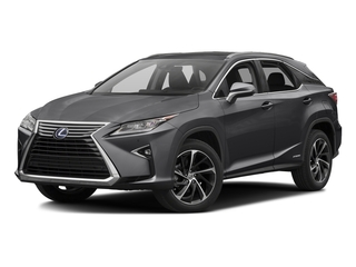 Nebula Gray Pearl 2016 Lexus RX 450h Pictures RX 450h Utility 4D 2WD V6 Hybrid photos front view