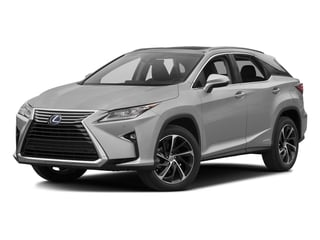Silver Lining Metallic 2016 Lexus RX 450h Pictures RX 450h Utility 4D 2WD V6 Hybrid photos front view