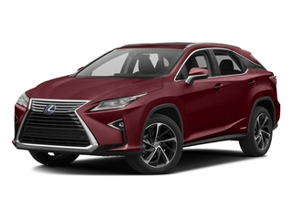 Matador Red Mica 2016 Lexus RX 450h Pictures RX 450h Utility 4D 2WD V6 Hybrid photos front view