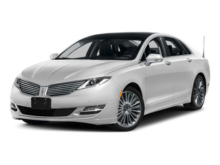 Confidential White 2016 Lincoln MKZ Pictures MKZ Sedan 4D Black Label I4 Hybrid photos front view