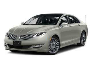 Crystal Silver 2016 Lincoln MKZ Pictures MKZ Sedan 4D Black Label I4 Hybrid photos front view