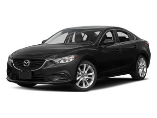 Jet Black Mica 2016 Mazda Mazda6 Pictures Mazda6 Sedan 4D i Touring I4 photos front view