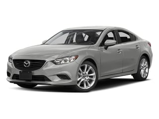 Sonic Silver Metallic 2016 Mazda Mazda6 Pictures Mazda6 Sedan 4D i Touring I4 photos front view