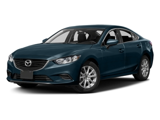 Deep Crystal Blue 2016 Mazda Mazda6 Pictures Mazda6 Sedan 4D i Sport I4 photos front view