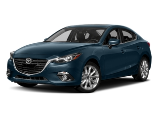 Deep Crystal Blue Mica 2016 Mazda Mazda3 Pictures Mazda3 Sedan 4D s GT I4 photos front view