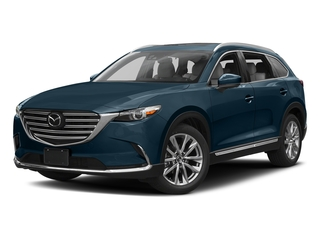 Deep Crystal Blue Mica 2016 Mazda CX-9 Pictures CX-9 Utility 4D GT 2WD I4 photos front view