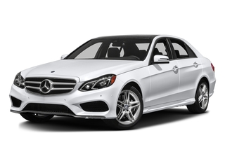Polar White 2016 Mercedes-Benz E-Class Pictures E-Class Sedan 4D E350 AWD V6 photos front view