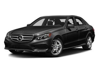 Obsidian Black Metallic 2016 Mercedes-Benz E-Class Pictures E-Class Sedan 4D E350 AWD V6 photos front view