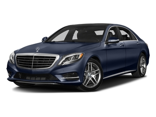 Lunar Blue Metallic 2016 Mercedes-Benz S-Class Pictures S-Class Sedan 4D S550 AWD V8 Turbo photos front view