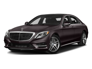 Ruby Black Metallic 2016 Mercedes-Benz S-Class Pictures S-Class Sedan 4D S550 V8 Turbo photos front view