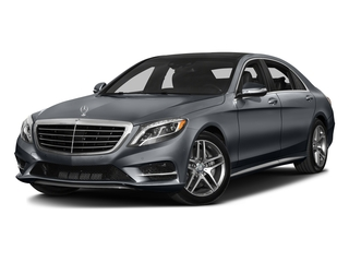 Anthracite Blue Metallic 2016 Mercedes-Benz S-Class Pictures S-Class Sedan 4D S550 V8 Turbo photos front view