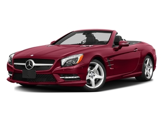 designo Cardinal Red Metallic 2016 Mercedes-Benz SL Pictures SL Roadster 2D SL550 V8 Turbo photos front view