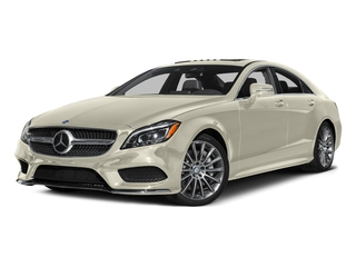 designo Diamond White Metallic 2016 Mercedes-Benz CLS Pictures CLS Sedan 4D CLS550 V8 Turbo photos front view