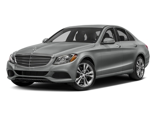 Palladium Silver Metallic 2016 Mercedes-Benz C-Class Pictures C-Class Sedan 4D C300 AWD I4 Turbo photos front view