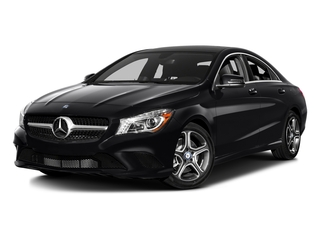 Night Black 2016 Mercedes-Benz CLA Pictures CLA Sedan 4D CLA250 AWD I4 Turbo photos front view